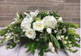 Wedding Wishes Centerpiece Bride and Groom table