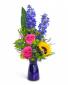 Weekend Vibe Vase arrangement