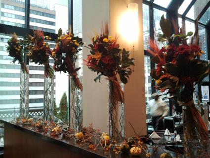 Weekly flower service Hotel displays