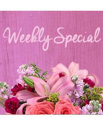 Weekly Special Flower Arrangement