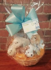 Welcome Baby Basket Gift Basket
