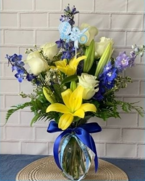 Welcome Baby Boy in Buda, TX   Budaful Flowers