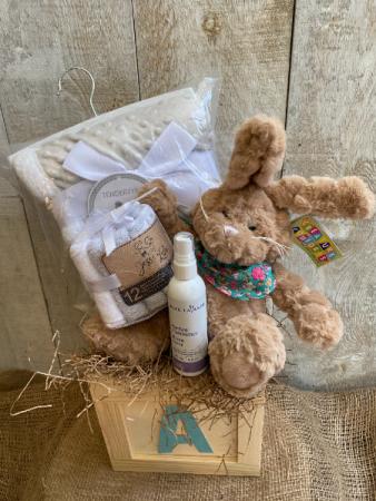 Welcome Baby Deluxe Gift Basket