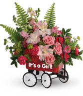 Welcome Beautiful Bouquet All-Around Floral Arrangement