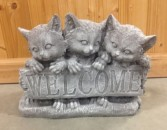 Welcome Cats $35.00