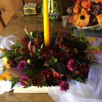 welcome centerpiece thanksgiving