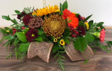 Welcome fall Fall centrepiece