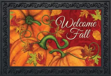 Welcome Fall Indoor/Outdoor Mat