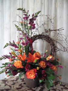 welcome home Arrangement in Caldwell, ID | Bayberries Flowers & Gifts