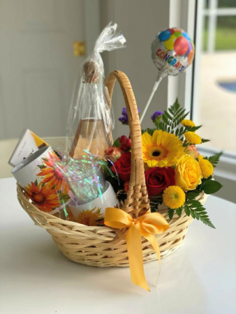 Welcome Home! Gift Basket