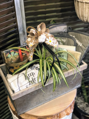 Welcome Home Gift Basket Gift Basket in Fairview, OR | QUAD'S GARDEN - Home to Trinette's Floral