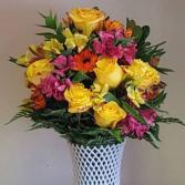 Welcome Home Vase Custom