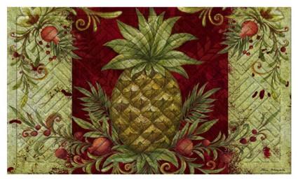 Welcome Pineapple Indoor/Outdoor Mat