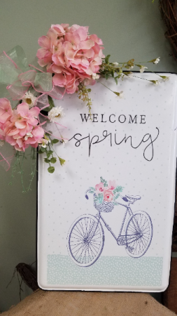 Welcome Spring! Sign