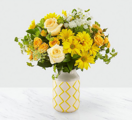 Welcome Sunshine! Beautiful Flower Arrangement