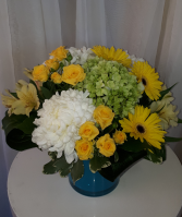 Welcome to the World Sunshine! Vase Arrangement