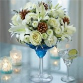 WELCOME WINTER MARTINI GFFG Arrangement
