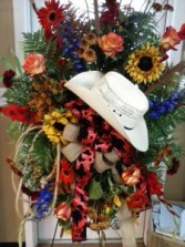 Western Tribute Standing Spray