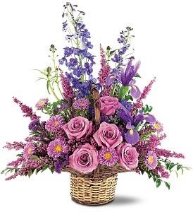 WF121 Lavender Basket