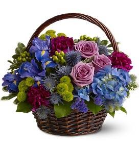 WF148 Simply Purple Basket