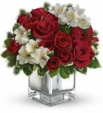 WF180 Alstroemerias & Red Roses
