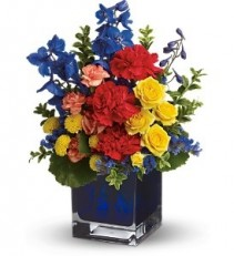 WF182 Brilliant Colors Bouquet