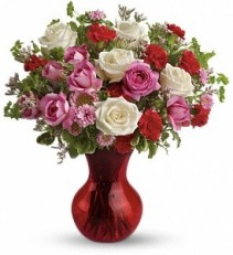 WF335 Mixed Color Spray Roses