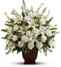 WF364 Elegant White Tribute