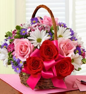 WFB's Mother's Day Special Basket of Love in Wickliffe, OH | WICKLIFFE FLOWER BARN