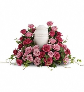 WFC148 Memorial Flowers - Urn