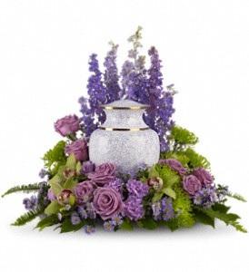 WFC149 Memorial Flowers - Urn