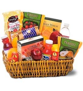 WFG106 Healthy Snacks Basket