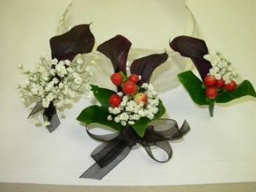 Prom Flowers Boutonnieres & Corsages