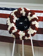 WFS1548 Patriotic Wreath