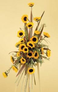 WFS1550 Sunflower Standing Spray