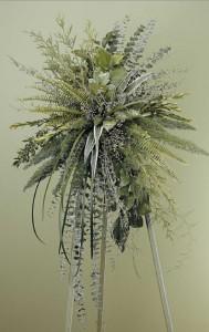 WFS1551 Fresh Green Inspirations Standing Spray