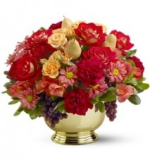 WFT103 Golden Bowl Centerpiece