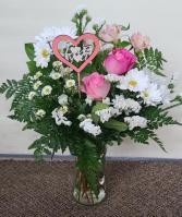 What A Treat Bouquet                   TEV12-2 Vase Arrangement