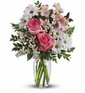 What a Treat Bouquet Vase