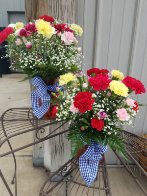 What in Carnation! Carnation Vase Special in Springfield, MO | FLOWERAMA #226