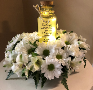 When You Believe Twinkle Jar in Springfield, IL | FLOWERS BY MARY LOU