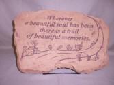 """Wherever A Beautiful Soul"" Sympathy Stone Sympathy"