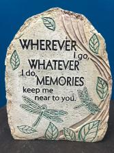Wherever I go Memoriam