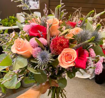 Whimsical Bouquet  Bridal Bouquet