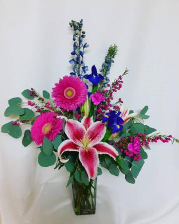 Whimsical Garden  Floral Arrangement