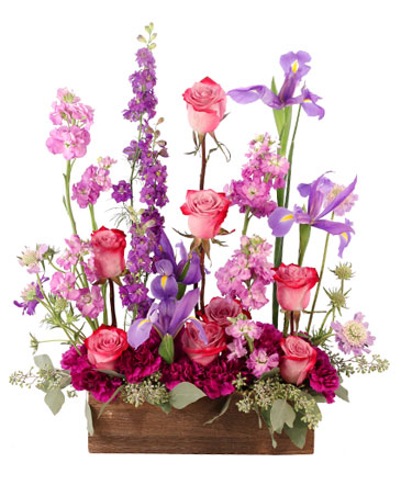 Whimsical Lavendar Garden Arrangement