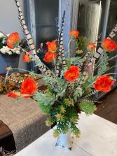 Whimsical Poppies Everlasting Decor