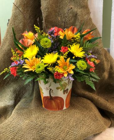 Whimsical Pumpkin Bouquet Arrangement