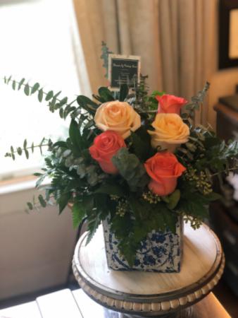 Whimsical Rose Arrangement