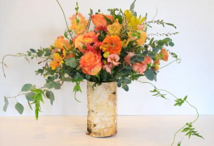 Whimsical Sunrise Floral Design